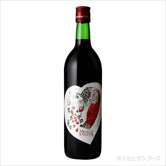 サンフーズ ワイン ハートワイン 赤